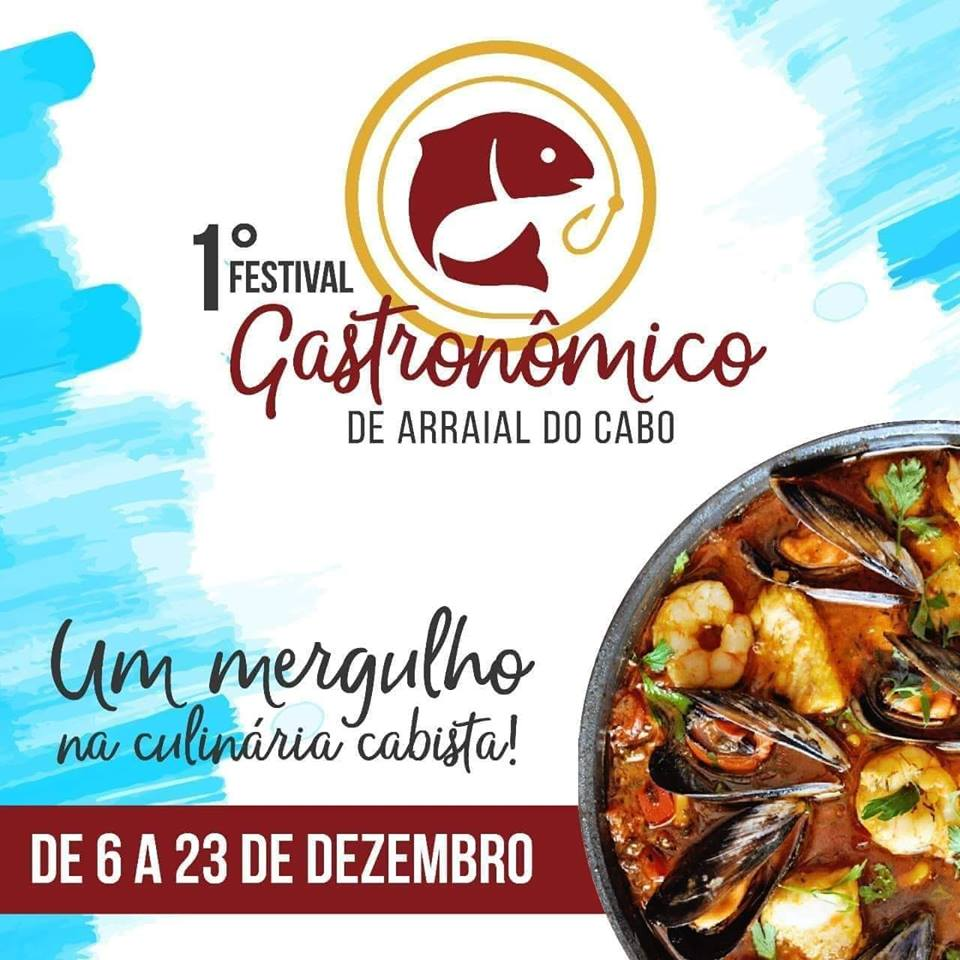 1º FESTIVAL GASTRONOMICO DE ARRAIAL DO CABO