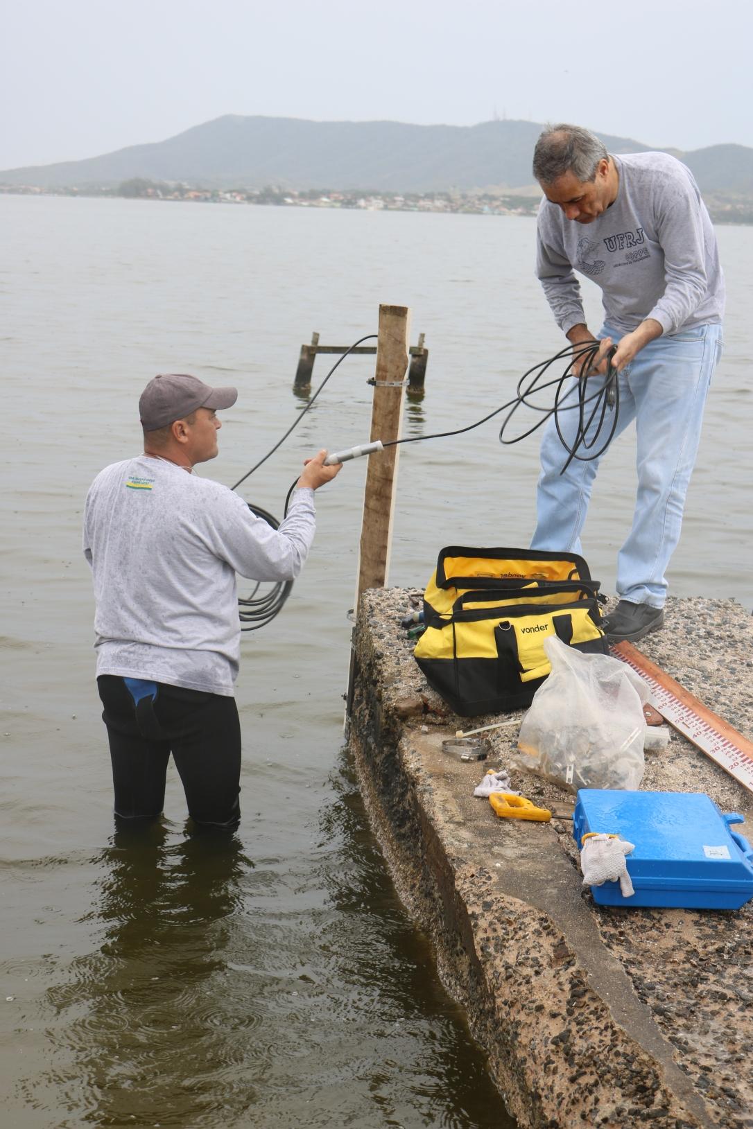 Sensor irá captar dados sobre a Lagoa de Araruama